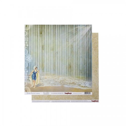 Scrapbookingu paber 30x30 cm- 190gsmHoliday Romance - Full of Mirth