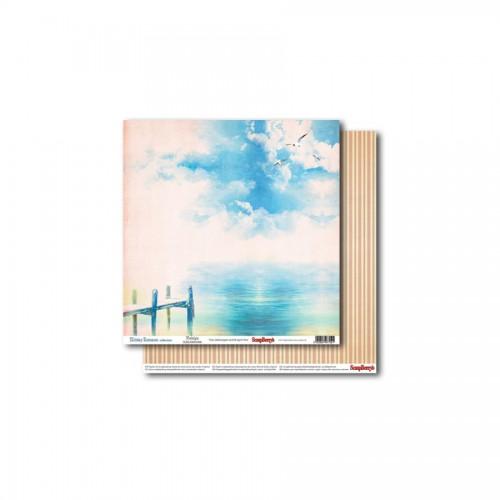 Scrapbookingu paber 30x30 cm- 190gs Holiday Romance - Nostalgia