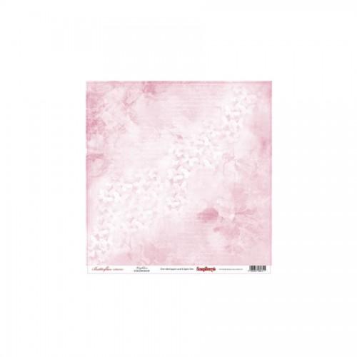 Scrapbookingu paber 30x30 cm- 190gs Butterflies - Weightless
