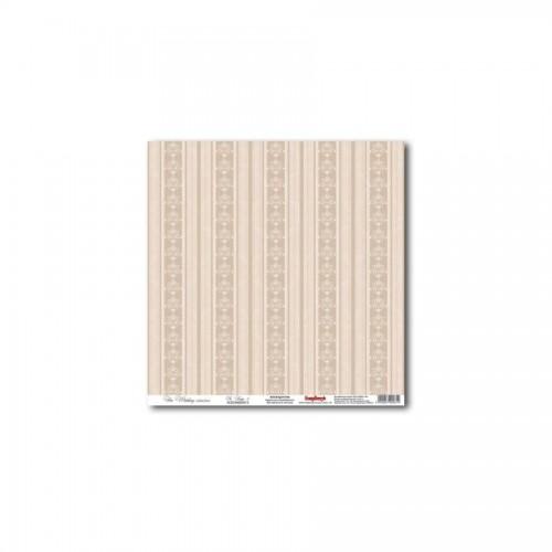 Scrapbookingu paber 30x30 cm- In Beige 3 180Gsm
