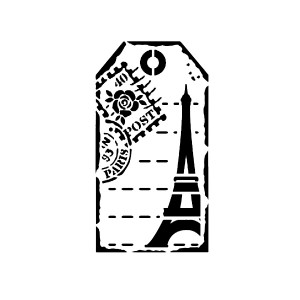 "Шаблон A5 ""Tag Paris"""