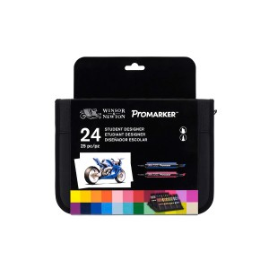 Wn Promarker 24 In Wallet Set