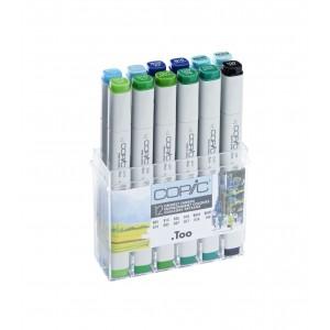 COPIC набор  12шт environment colours