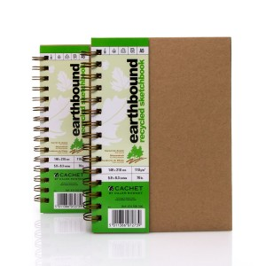 "Block Of Paper ""Earthbound"" A5,80 sh ,110g/m  Daler-Rowney"
