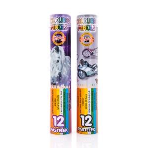 Set Of School Col.Pencils  12Pcs