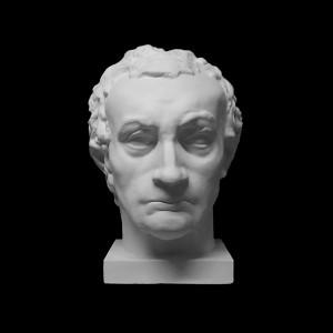 Plaster Cast The Head Of Gattamelata