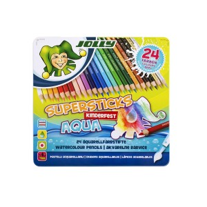 Jolly Supersticks Kinderfest Aqua,  Assorted, Meta