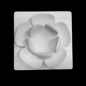 Plaster Modell For Painting Water Lily