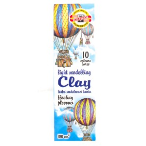 Set Of Modeling Clay  Light 10 Pcs