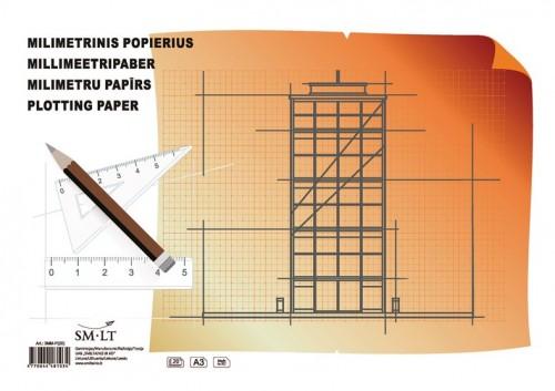 millimetric paper copying paper transfer spray
