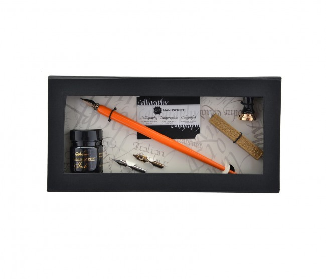 "Kalligraafiakomplekt ""Pen And Mini Seal"""