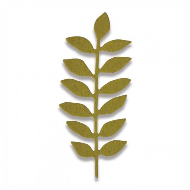 Thinlits. Meadow Leaf by Sophie Guilar