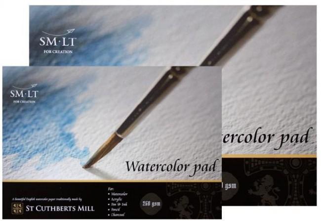 Puuvillasisaldusega akvarellpaber A3 ,20lh, 260g,