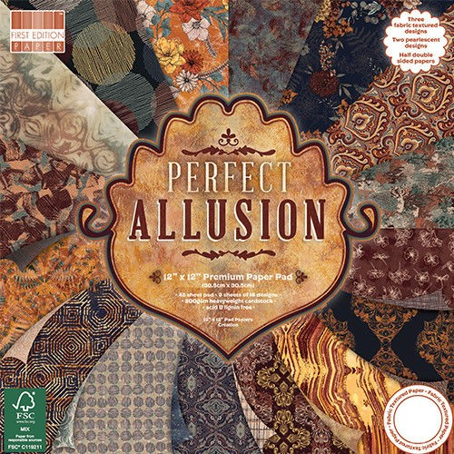 First Edition FSC 12 x 12 Perfect Allusion Paper Pad
