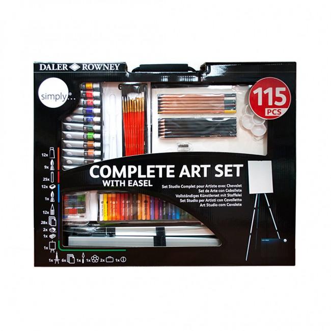 Kunstikomplekt 115 osa Simply