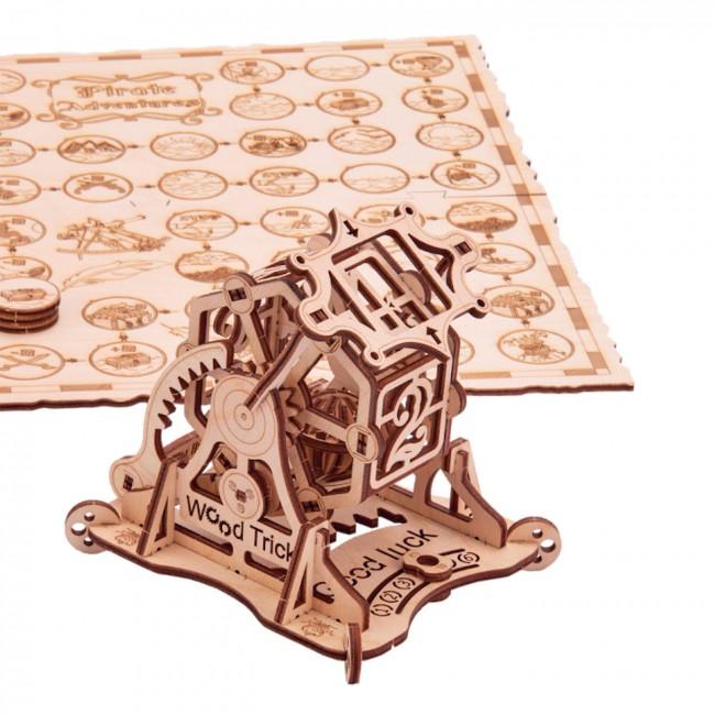 Puidust konstruktor«Wheel of fortune + game Pirates