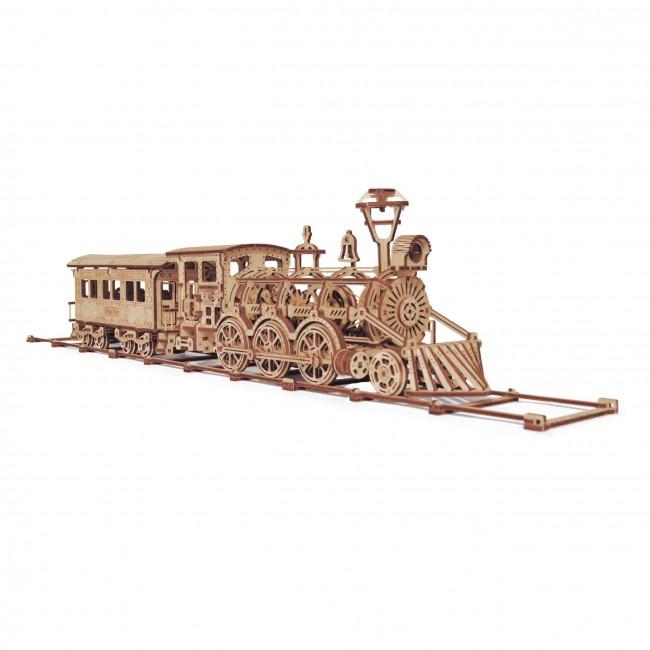 """Puidust konstruktor """"Locomotive R17"""""""