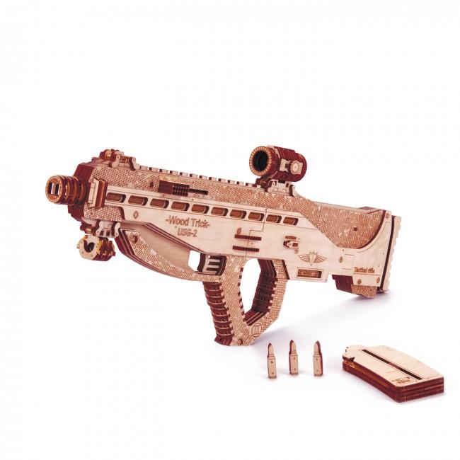 """Puidust konstruktor  """"Assault riffle USG2"""""""
