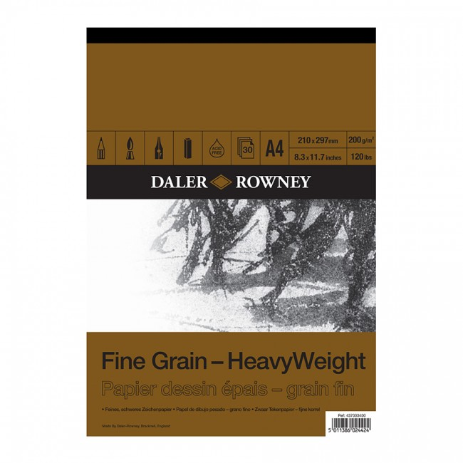 a90c195a175 Joonistusplokk A4 200 Gr Daler-Rowney