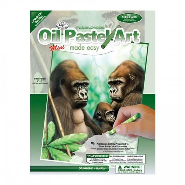Laste Maaliikomplekt Gorilla