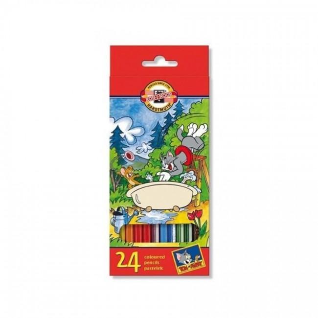 """Värvipliiatsite komplekt 24tk """"Tom&Jerry""""3654"""