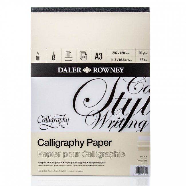 "Kalligraafia Plokk A3 ""Daler-Rowney"""
