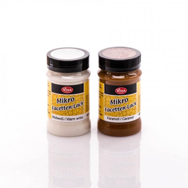 Krakeleelakk 2-etapp, MikroFacetten, 90 ml