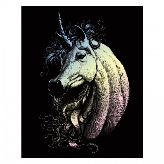 Gravüürikomplekt Proud Unicorn