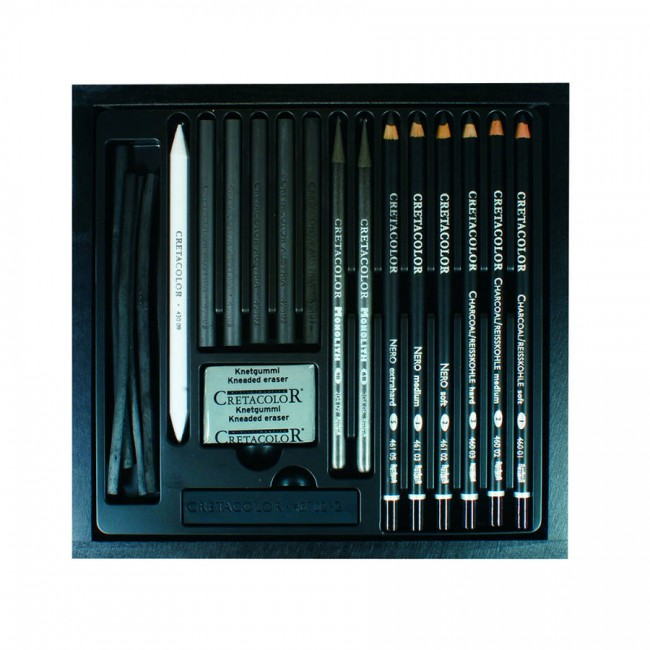 "Graafika Komplekt ""Blackbox"",  Cretacolor"
