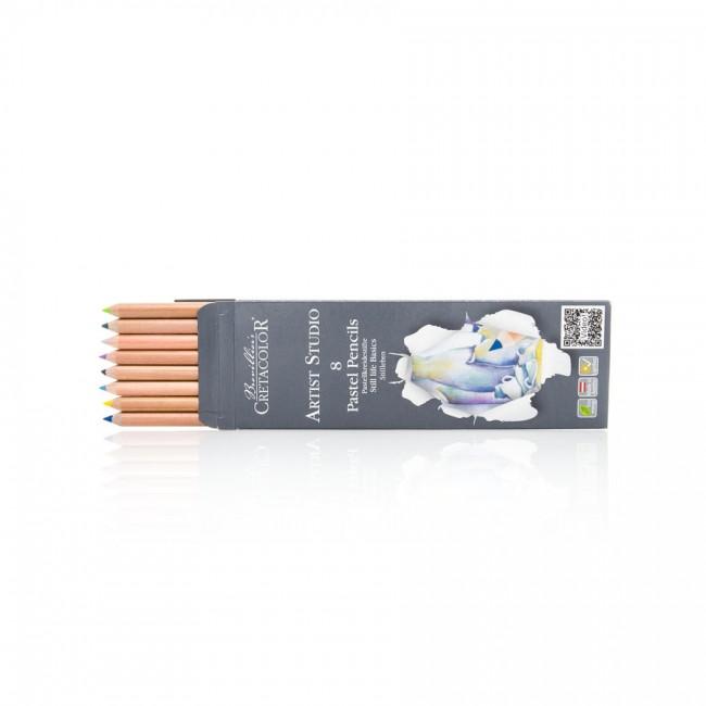Pastellpliatsite Komplekt Still Life, 8 Värvi, Cretacolor