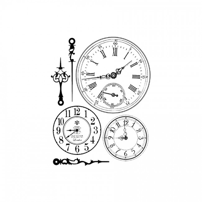 Kummist Templid   Cm. 14X18 Clocks
