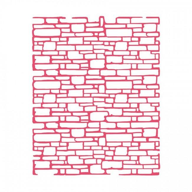 Sabloon  20X25Cm/0,2Mm  Bricks Texture