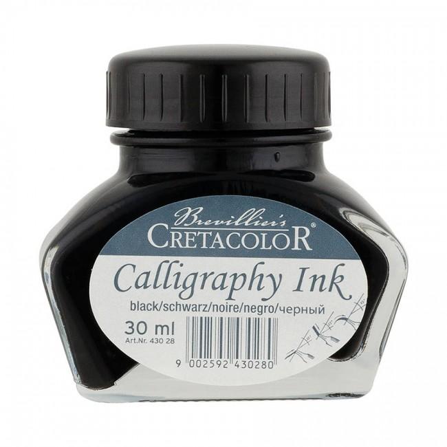 Kalligraafia Tint.Must 30Ml