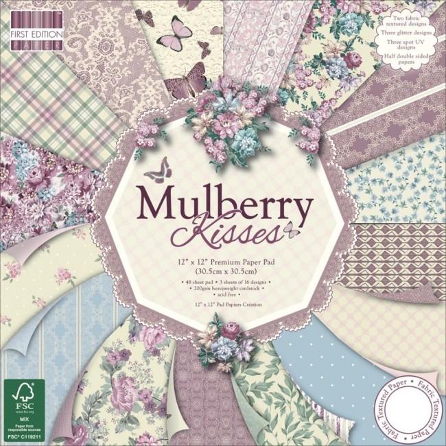30x30cm paberiplokk Mulberry Kisses