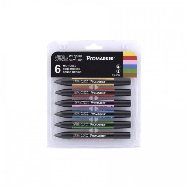 Wn Promarker 6 Mid Tones