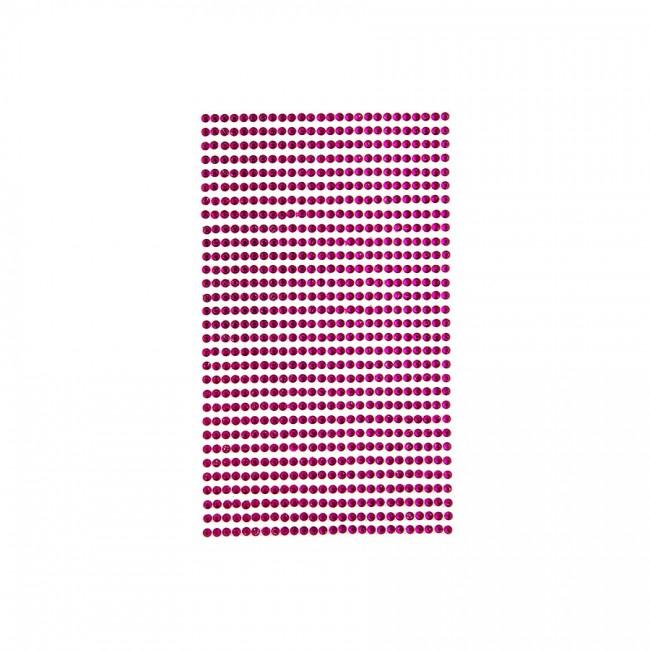 Iseliimuvad Kristallid 3Mm,806 Tk, Fuchsia