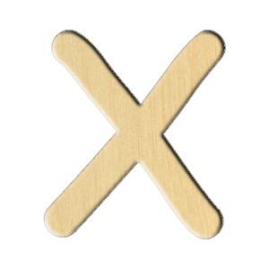 """Puidutoorik. 246 """"Täht X (Eng.)"""" 6,1Х7 Sm"""