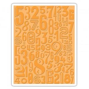 Tekstuurplaat  Numeric By Tim Holtz