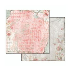 Scrapbookingu paber 30х30cm- Dream Texture with rose