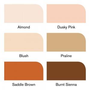 Winsor & Newton Brushmarker - 6 Skin tones