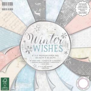 20x20cm paberiplokk Winter Wishes