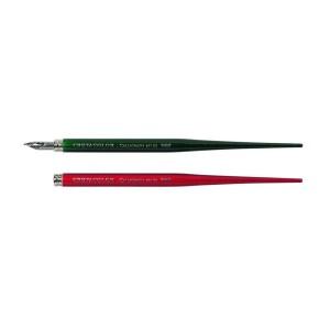 Sulehoidja +sulg (Punane,Roheline) Cretacolor