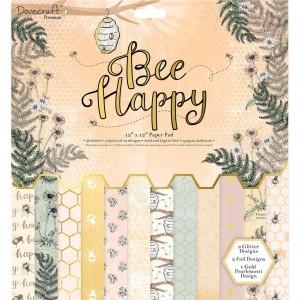 30x30cm paberiplokk  Bee Happy