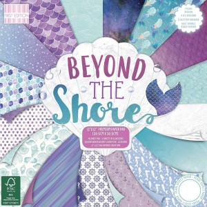 First Edition FSC 12x12 Beyond the Shore Paper Pad