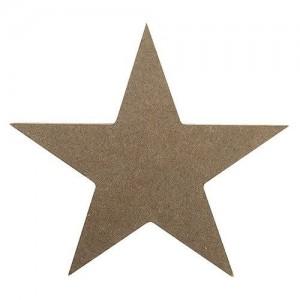 MDF Letter Blank  Star