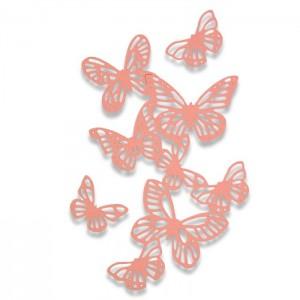 Lõikenoad Thinlits 3tk- Butterflies