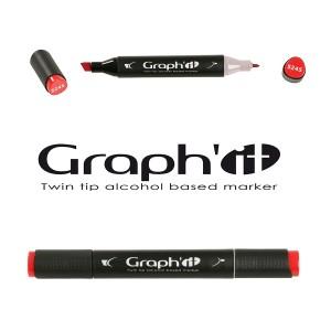 Permanent kahepoolne marker, GRAPH'IT