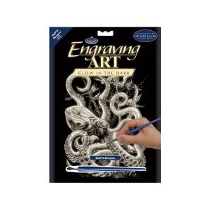 Gravüürikomplekt Kaheksajalg