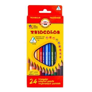 Värvipliiatsite  k-t TRIOCOLOR  24tk 3134