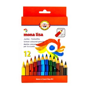 """Värvipliiatsite k-t  """"Mona Lisa"""" 12tk Jäme  3372"""